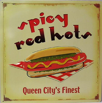 Spicy Red Hots Hot Dogs