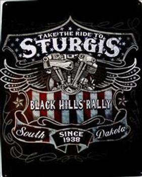 Sturgis- Take A Ride Metal Sign