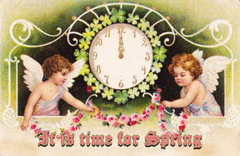 Time for Spring Metal Sign