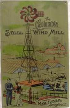 The Columbia Steel Wind Mill