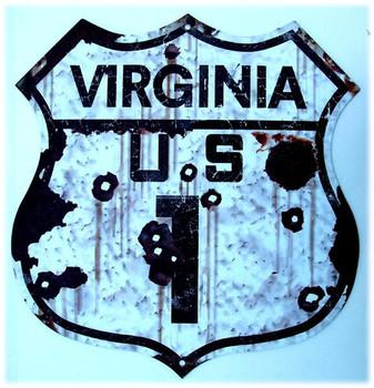 US Route Virginia 1