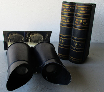 Stero ViewFinder Circa 1900's With 32 Views