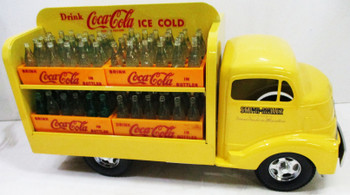 Smith Miller Coca-Cola Delivery Truck Yellow