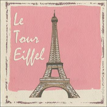Le Tour Eiffel Metal Sign