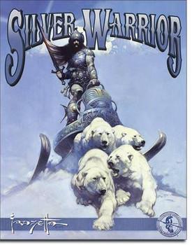 Silver Warrior-Frazetta