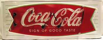 Coca-Cola Fishtail Neon
