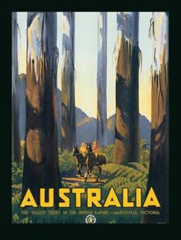 Australia Metal Sign