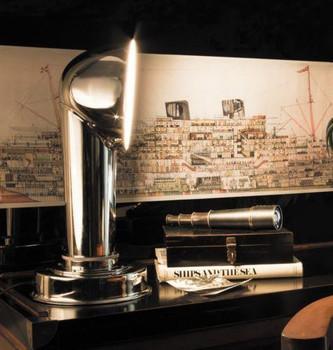 Steamer Funnel Lamp   SL069