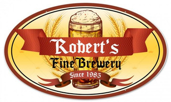 FINE BREWERY SINGLE PERSONALIZED