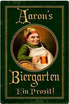 German Beer Garden Personalized