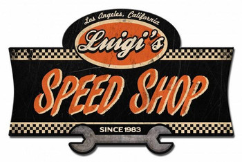 Personalized Speed Shop