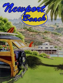 Newport Beach Surf and Woody