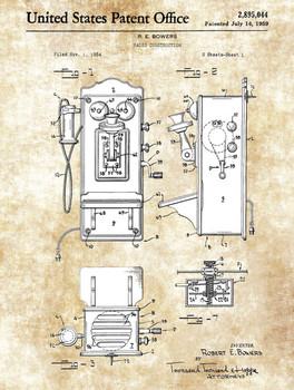 Radio US Patent Metal Sign