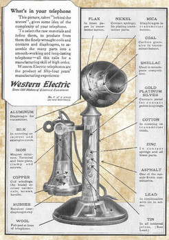 Western Electric Vintage Ad
