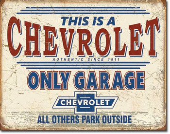 This is a Chevrolet Only Garage