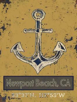 Newport Beach Longitude and Latitude Degrees