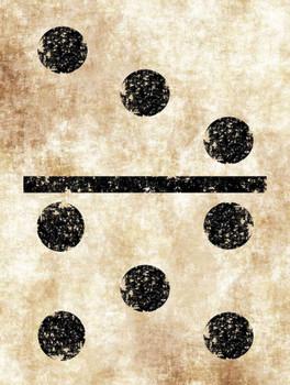 Vintage Domino Metal Sign