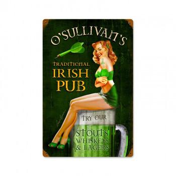O'Sullivan's Irish Pub Pin Up