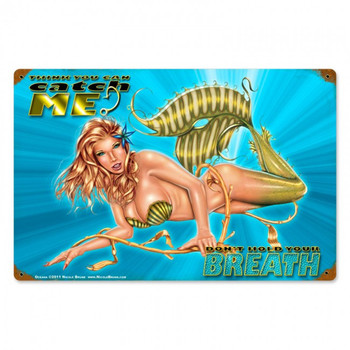 Oceana Mermaid Pin Up