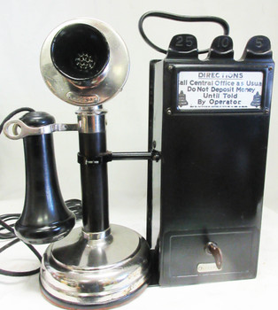 Candlestick ( Nickel ) with Gray Pay Station