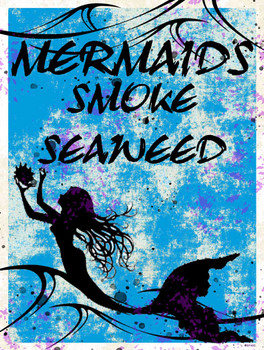 Mermaids Smoke Seaweed (Blue)