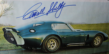 Carroll  Shelby Framed Autograph Certified Limited Lithograph