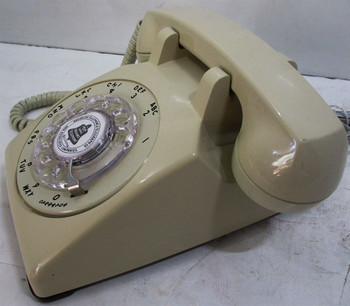 ITT Table Telephone Circa 1960 Beige