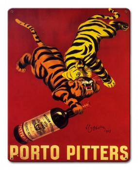 Porto Pitters Metal Sign