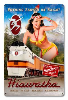 Hiawatha Train Pin Up