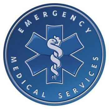 "Emergency Medical Services 12"" Round"