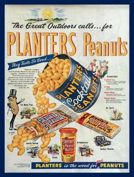 Planters Peanut Advertisment