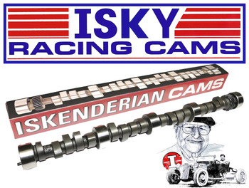 Iskenderian Camshaft metal sign