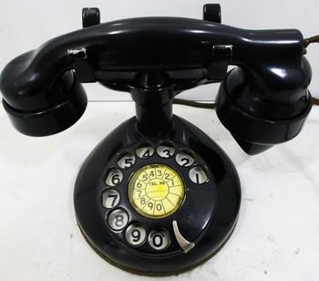 Graybar Western Electric Round Base Table Telephone