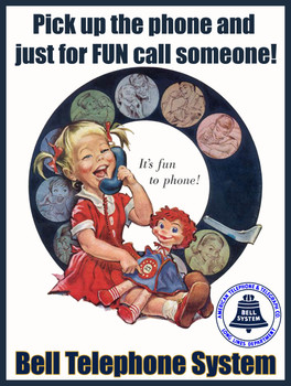 Bell Telephone Call for Fun