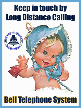 Bell Telephone Long Distance Calling