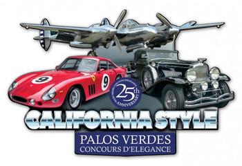 Palos Verdes Concours Event 2018 Plasma Cut Metal Sign