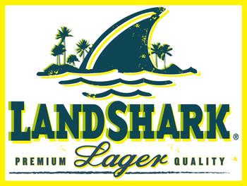 Land Shark Lager Logo metal sign