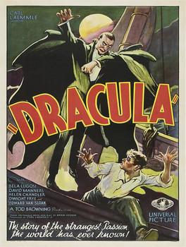 Dracula Movie Poster Metal Sign