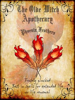 Phoenix Feathers Apothecary Ingredients