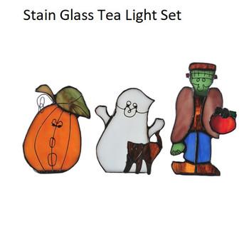 Trick or Treat Tea Light Set