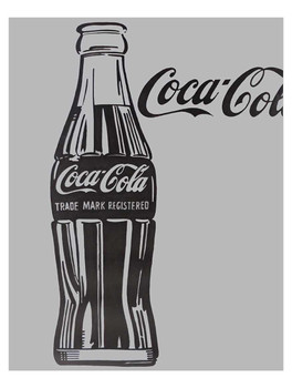 Coca-Cola Bottle Metal Sign