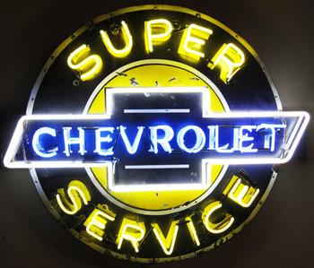 Super Service Chevrolet Original Neon