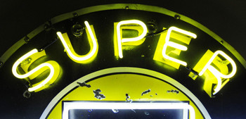 Super Service Chevrolet Original Neon