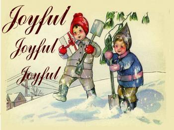 Joyful Joyful Joyful Metal Sign