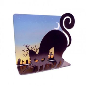 Black Cat Halloween Tea Light Topper