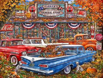 Parkers Pickup Trucks Metal Sign