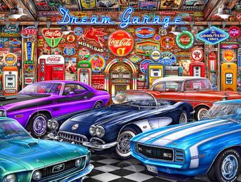 Dream Car Garage by Michael Fishel