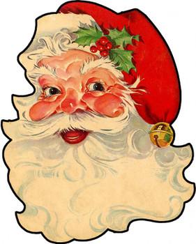 Kris Kringle Vintage Plasma Sign