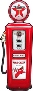 Texaco Gas Pump by Michael Fishel Plasma Cut Sign