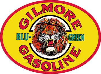 "GILMORE BLU-GREEN Gasoline 18"" OVAL"